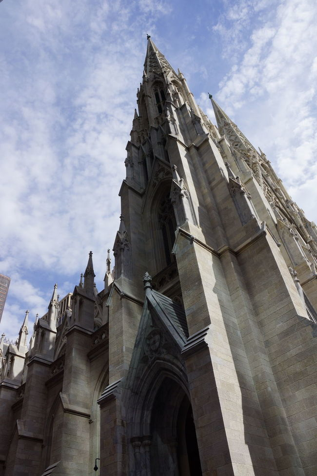 st patricks Architecture Building Exterior Built Structure City Cloud - Sky Day History Low Angle View No People Outdoors Place Of Worship Religion Sky Travel Destinations Vertical