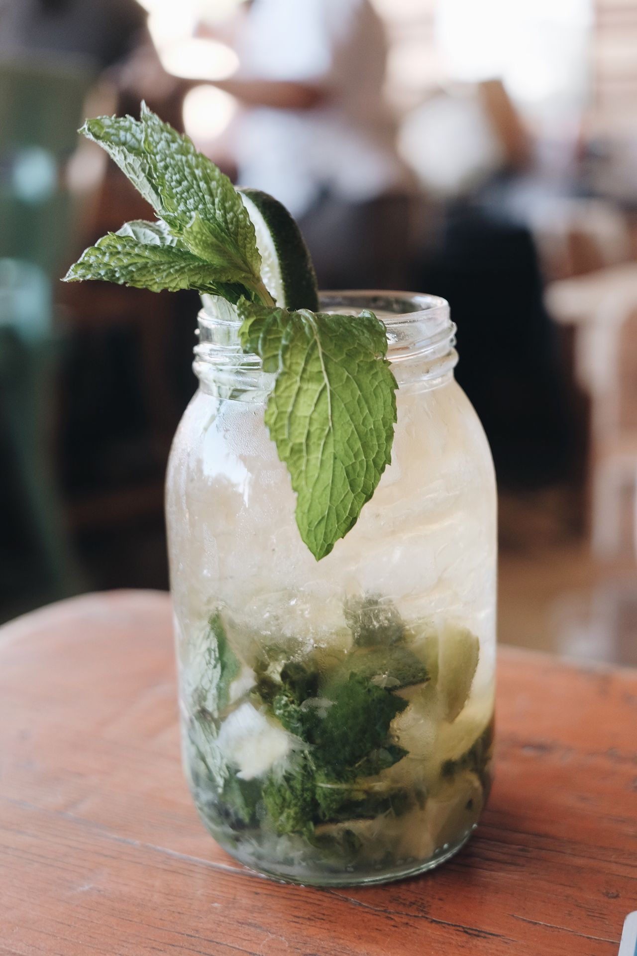 Mojito Focus On Foreground Freshness Table Food And Drink Close-up Mint Leaf - Culinary Leaf No People Indoors  Mint Tea Day Mojito