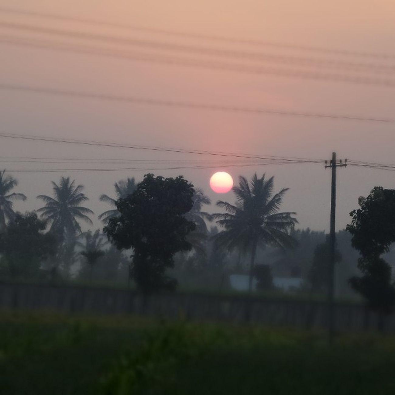 Sunrise Nandi hills Nature India