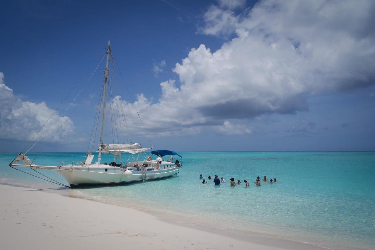 Beautiful stock photos of ocean, Beach, Beauty in Nature, Blue Color, Cloud