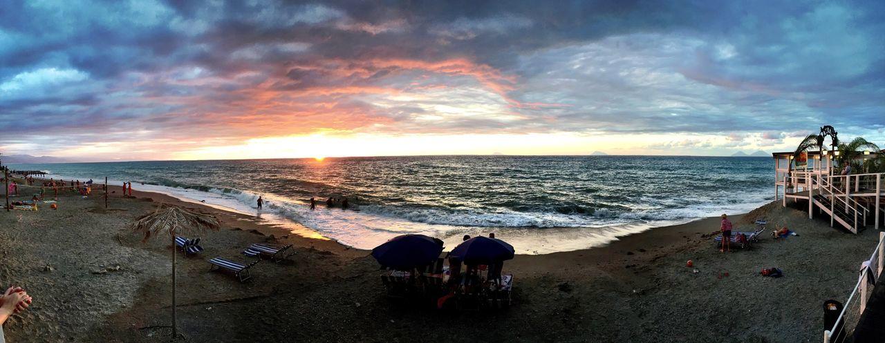 Sicilia Italia Tramonto Mare Capo D'Orlando Showcase: November