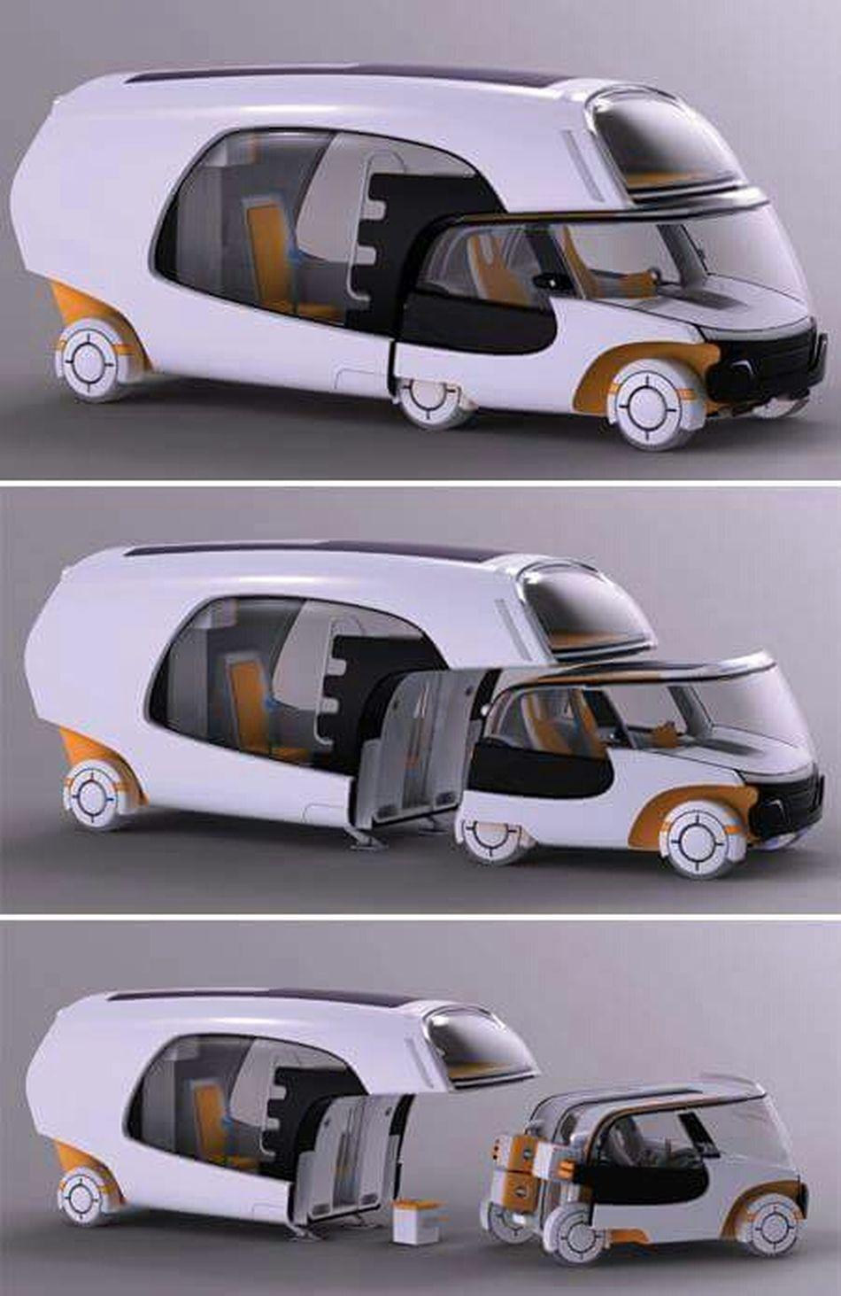Really Modern Car Araba Tasarım Karavan Perfect Engineer Dizayn