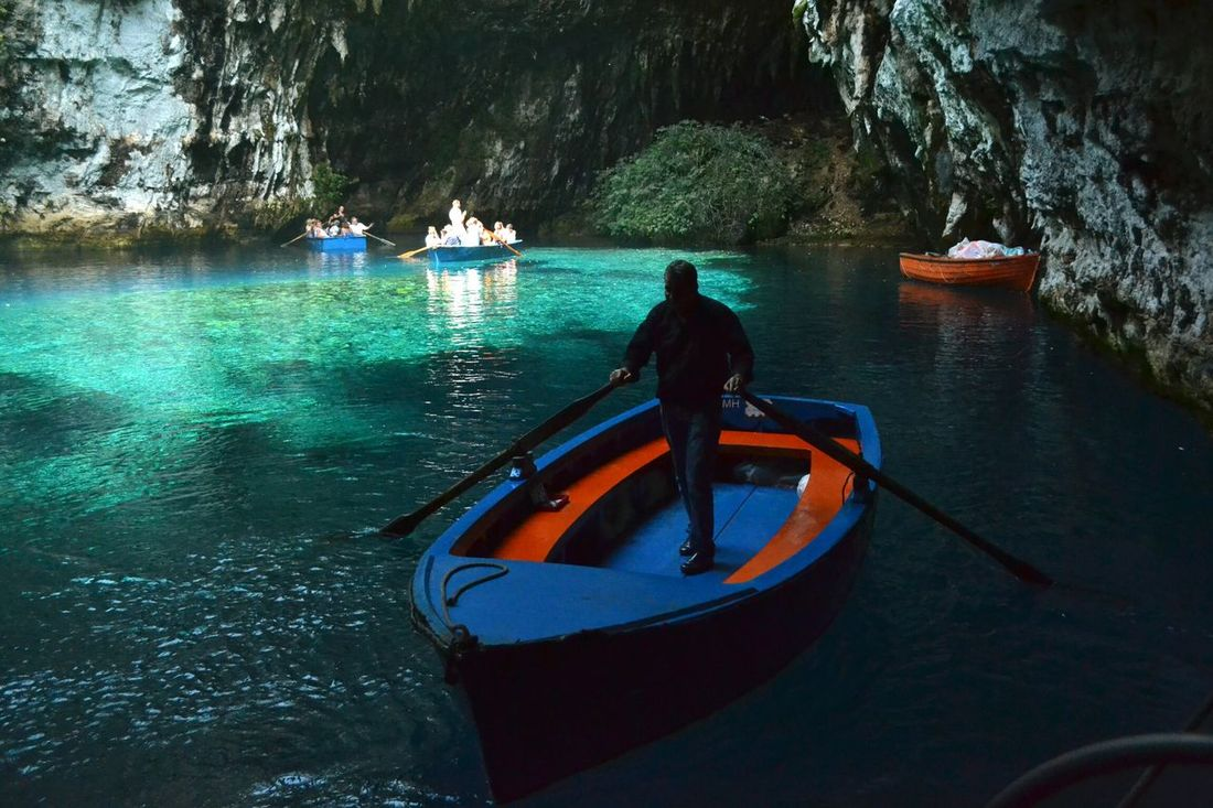 Kefalonia Greece Caves EyeEm Best Shots Sea Summer Boats Traveling Colors Of The Sea