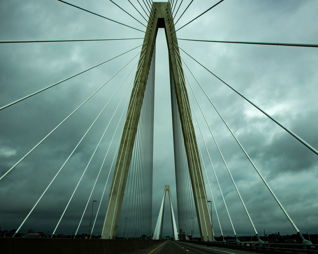 EyeEmNewHere Sky Suspension Bridge Cloudy Artofvisuals Visualsoflife Theimaged Fatalframes IshootRaw Canon Canonphotography Lightroom Primeshots Art Artistic Photo Photography TheCreatorClass Createcommune Shoot2kill Agameoftones Create Bridge Picoftheday Cable EyeEmNewHere