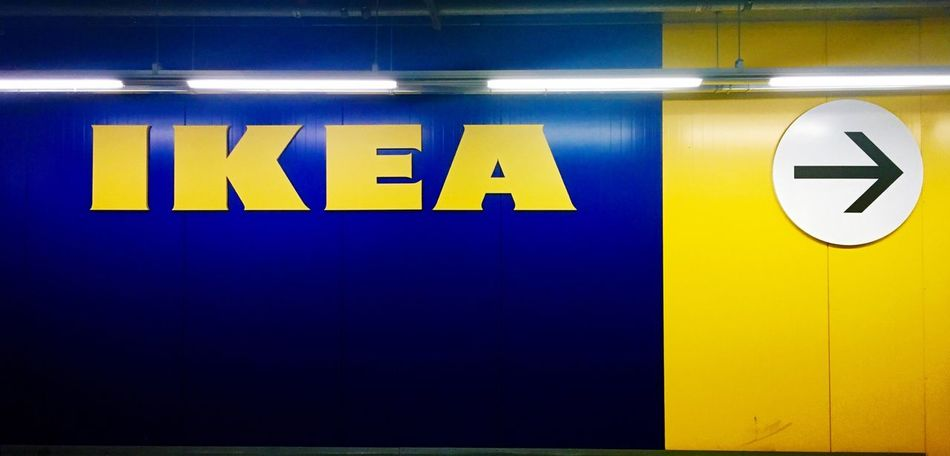 Korea IKEA Azul Amarillo