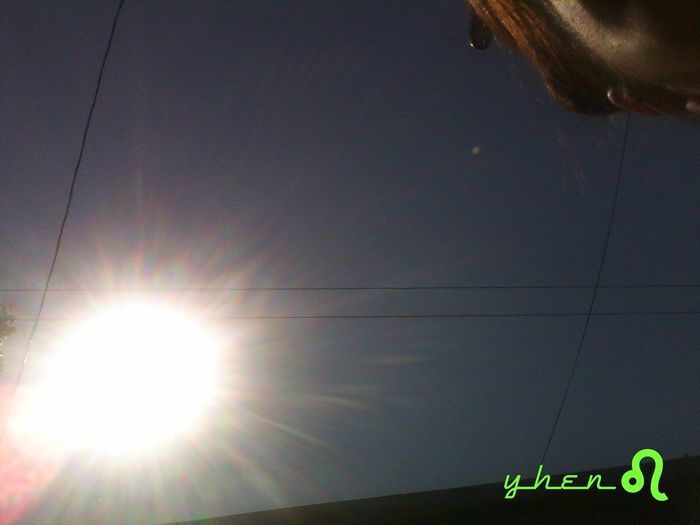 afternoon heat Hot Weather Sun Burst