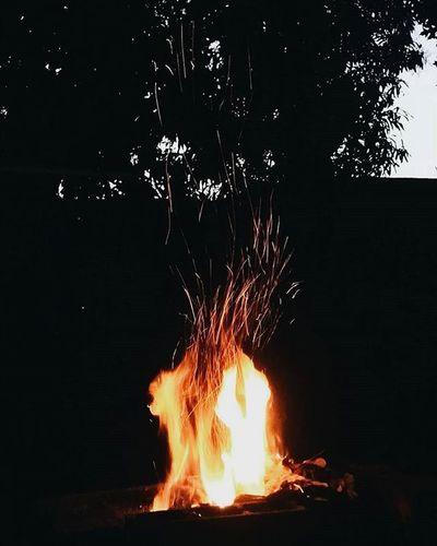 VSCO Vscocam Fire Night Mobilephotography