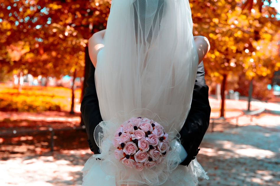 Beautiful stock photos of roses, Autumn, Bonding, Bouquet, Bride