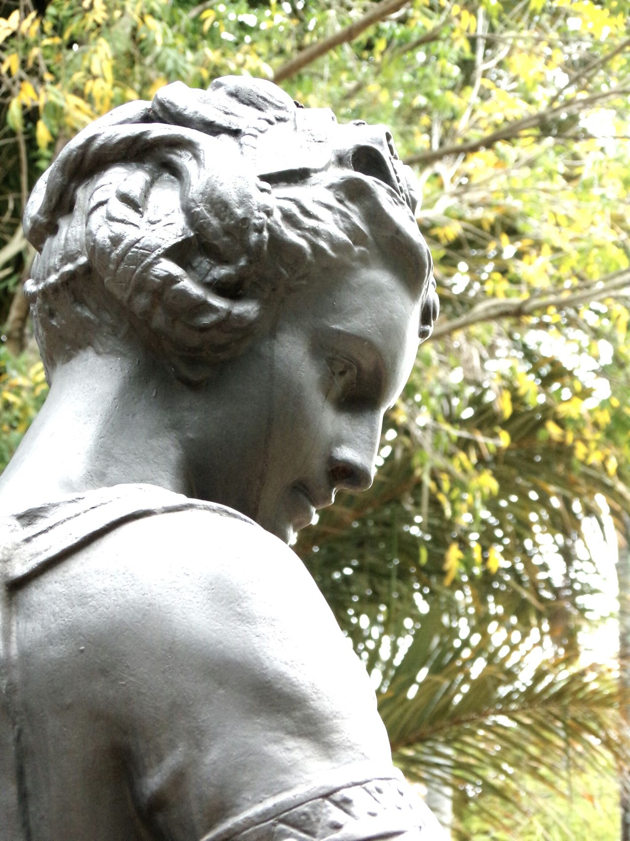 Urban Garden Statue Manvsnature  Urban Context