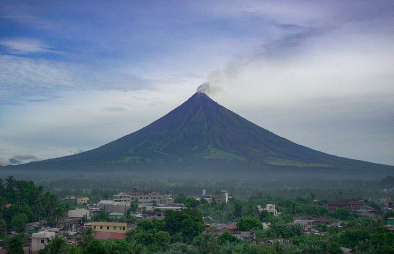 Mayon Volcano Mayon Volcano Philippines Philippines Nature Mountain No People Outdoors Day first eyeem photo EyeEmNewHere EyeEm Ready