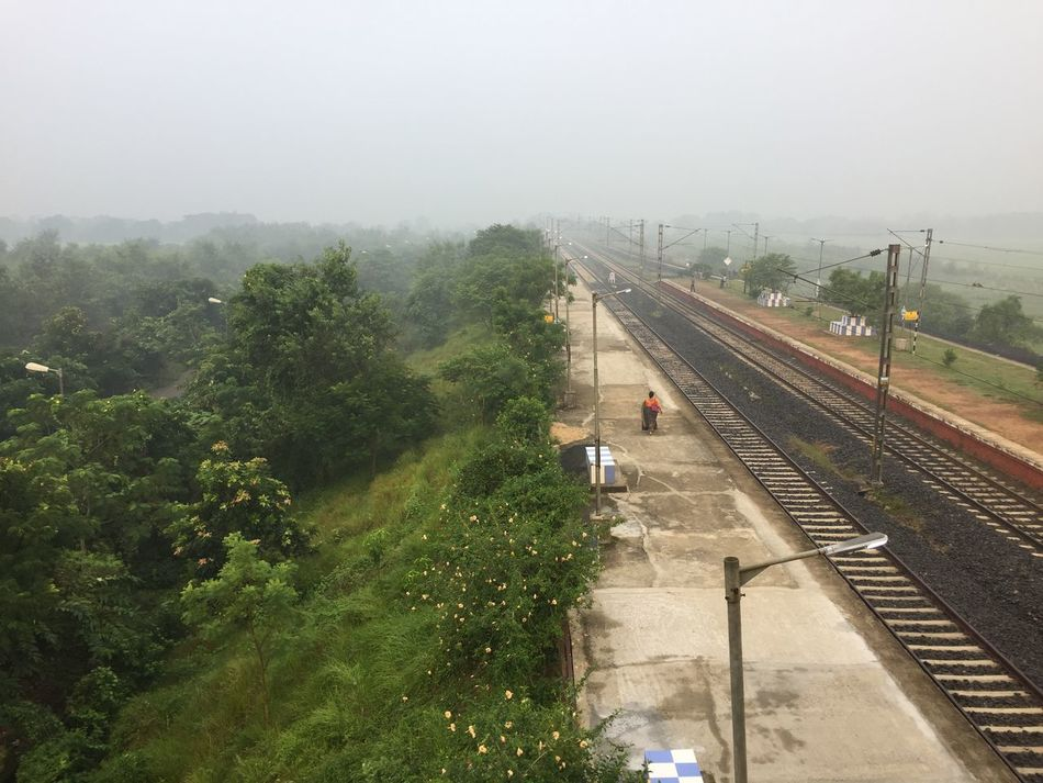 Perspective Photograph of Railway Track taken from Drone Aerial Shot Drone  India Perspective Perspectives Railroad Track Train Tracks Above The Ground Aerial Aerial Photography Aerial View Dronephotography Droneshot Landscape Rail Rail Lines Railway Line Railway Track Sunrise Train Line Vanishing Point Rethink Things