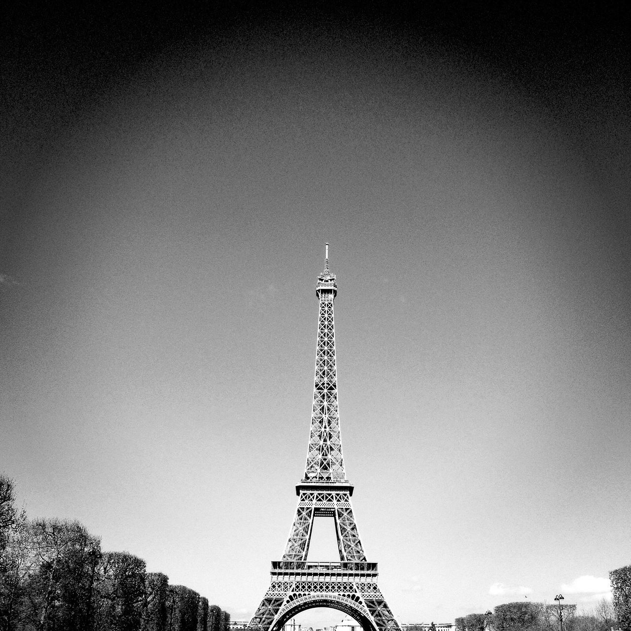 Home Eiffel Tower Champ De Mars Sunny Day Sunday Blackandwhite Weekend