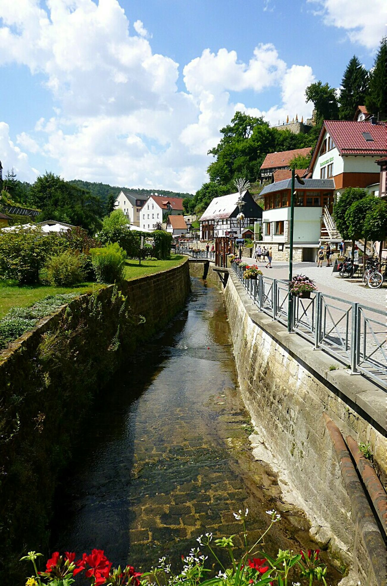 Kurort Rathen Village Germany Streetphotography EyeEm Eyemphotography Street Trip Nationalpark River Enjoying The Sights Sightseeing