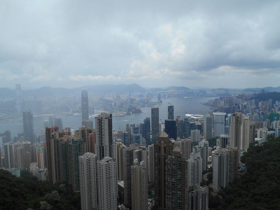 Skyscraper Cityscape HongKong Hong Kong Victoria Peak, Hongkong City