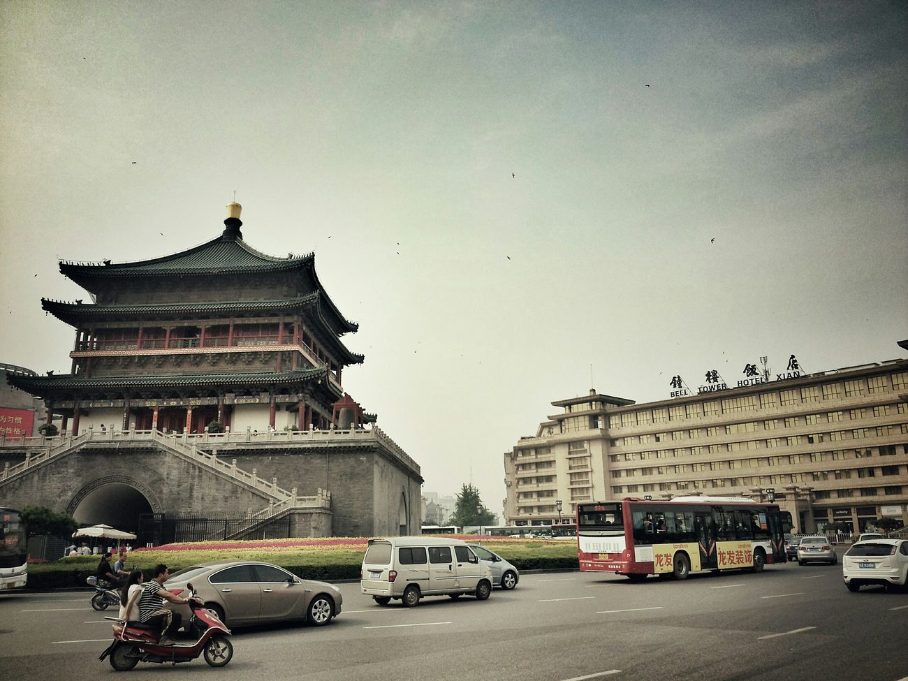 One day in Xi,an Walking Around Streetphotography Ancient Architecture