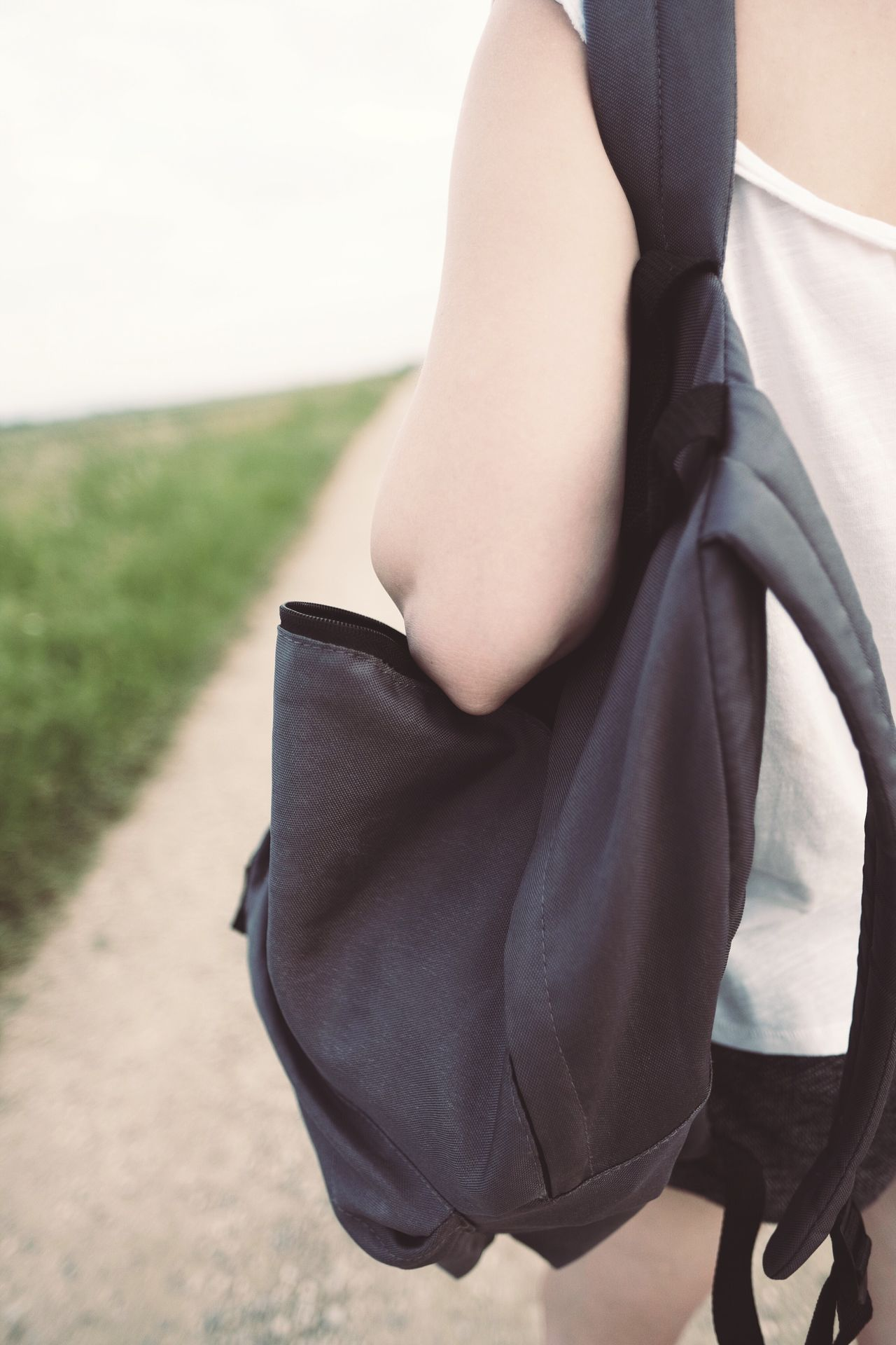 Beautiful stock photos of woman,  25-29 Years,  Bag,  Black Color,  Carrying