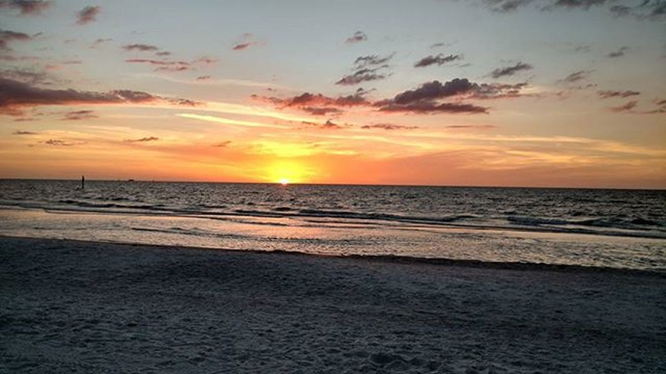 Last night was pretty. Florida Sunset Clearwaterbeach Floridaoutdoorscontest