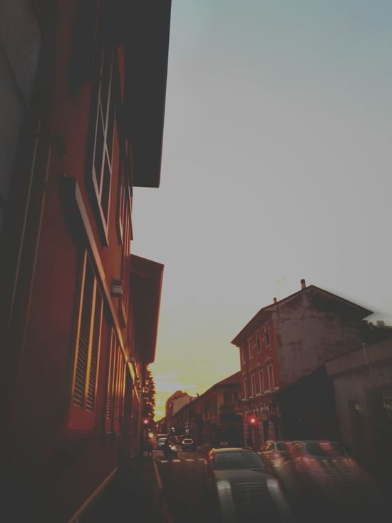Streetphotography City Sky Low Angle View Sunset No PeopleStreetphoto Outdoors Cityscape Streetphoto_color Street Streetlights And Sky Streetlights
