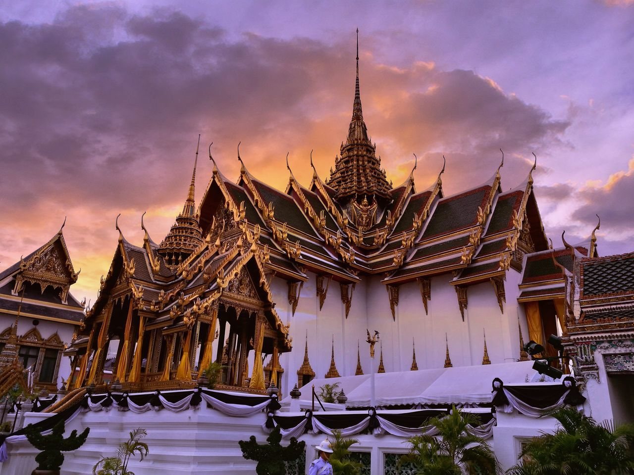 Abstract Architecture Temple Grand Palace Bangkok Thailand First Eyeem Photo