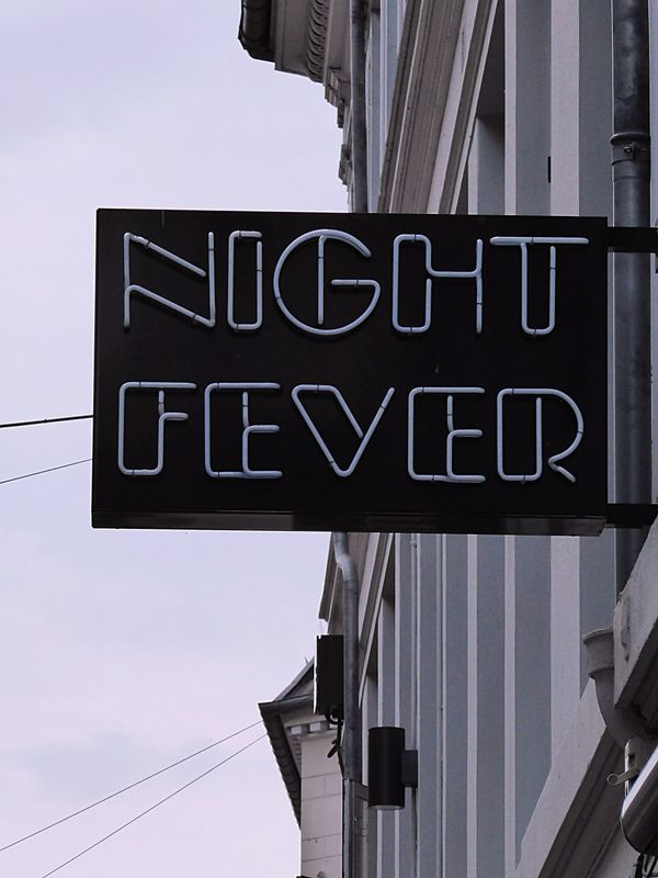 Night Fever Danceclub Copenhagen Streets Denmark Fine Art Photography City Street Strettsign Signcollection Enjoying Life Taking You On My Journey😎 EyeEm Best Shots Streetphotography Wonderful Copenhagen DANCE ♥ No People Back To The 80's Back To The Future Boggienights Saturday Night Fever Dancefever Eye4photography  Architectural Detail Check This Out Time After Time