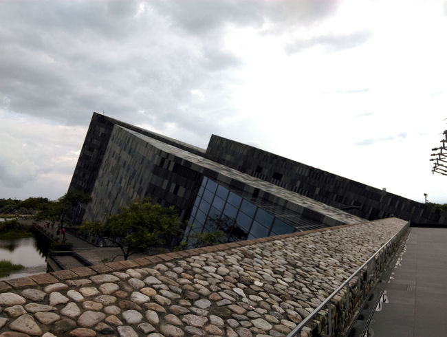 Lanyang Museum, so beautiful and very interesting! Appearance Architectue Cloud And Sky Culture Geography History Museum Unique Architecture