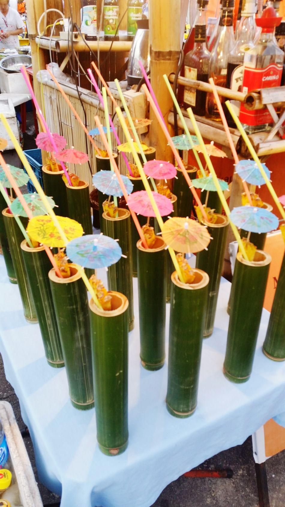 Cocktails Cocktails🍹🍸 Cocktailinbamboo Cocktail In Bamboo Beautifully Organized