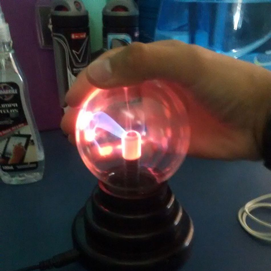 I got that the POWER! Plasm Globe Fisic Amazing power touch likeforlike followforfollow