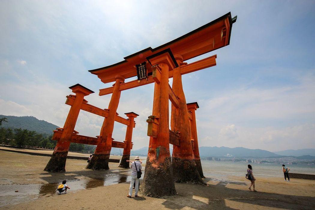 Itsukushima-jinjya Hiroshima, Japan