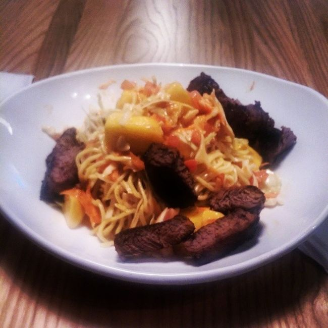 Noodle Salad With Thai Peanut TaqueriaTsunami