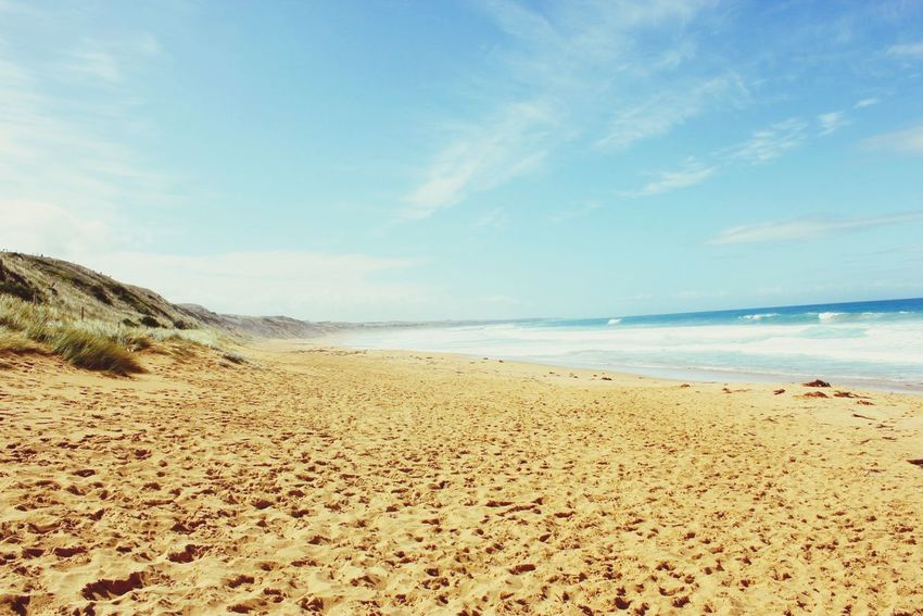 Life Is A Beach Check This Out Summer Picoftheday Landscape Great Ocean Road Australia Walk This Way Enjoying Life Empty