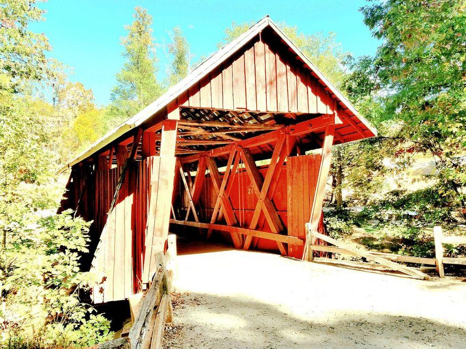 The last covered bridge in South Carolina