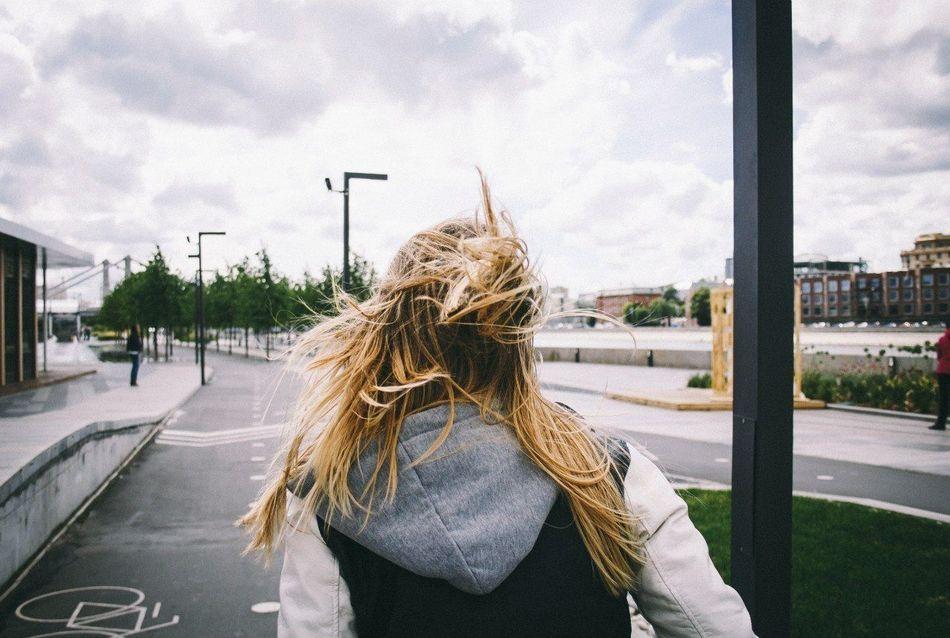 Beautiful stock photos of storm, Blonde Hair, Cloud, Day, Jacket