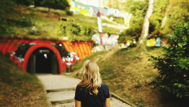 Artpark Tunnel Oldtown Zagreb City Blondehairdontcare Wanderings
