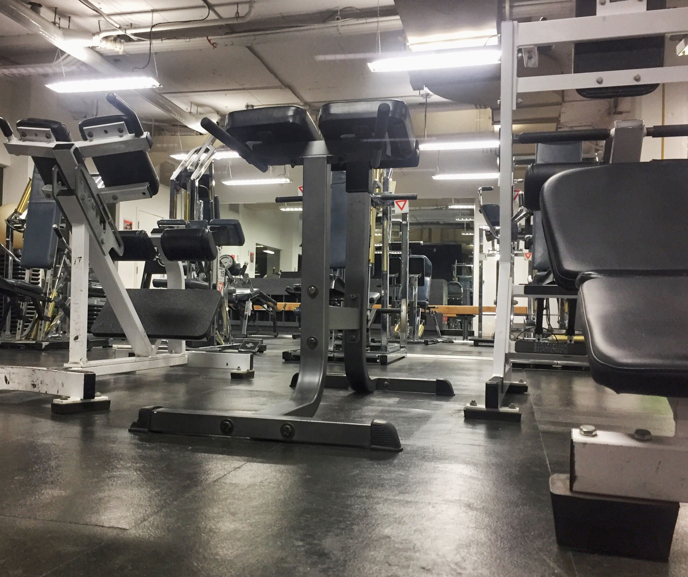 Gym Exercise Room Exercise Time Machines Apparel Environment Exercise Time Healthy Muscle Building Equipment Indoors  Metallic No People