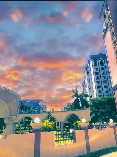 Cityscape Travel Travel Destinations City Sunset Architecture Sky Outdoors No People Skyscraper Day