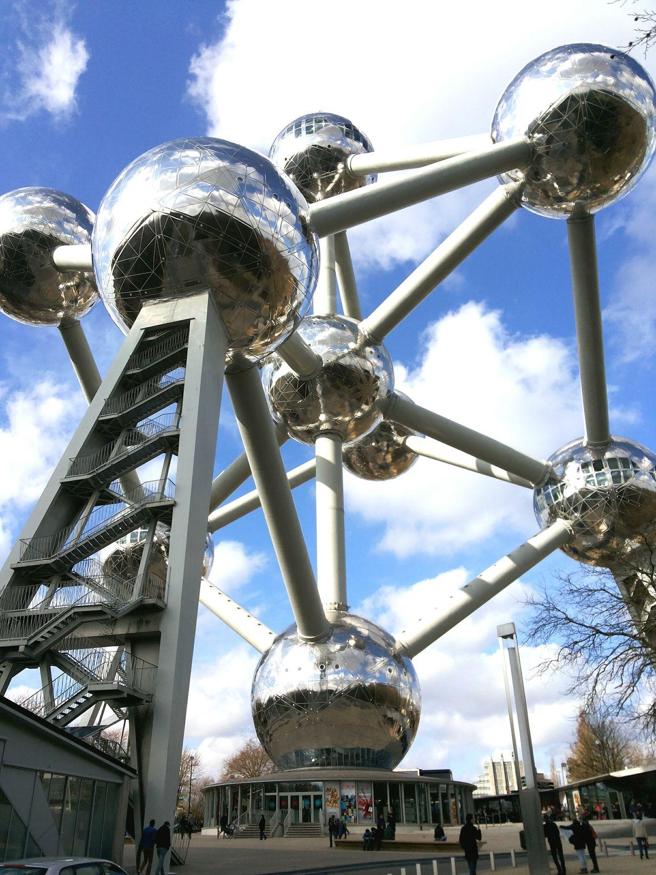 Built Structure Travel Destinations Vacation Destination Europe Belgium Brussels Brussels Architecture Atomium Atomiumbrussels