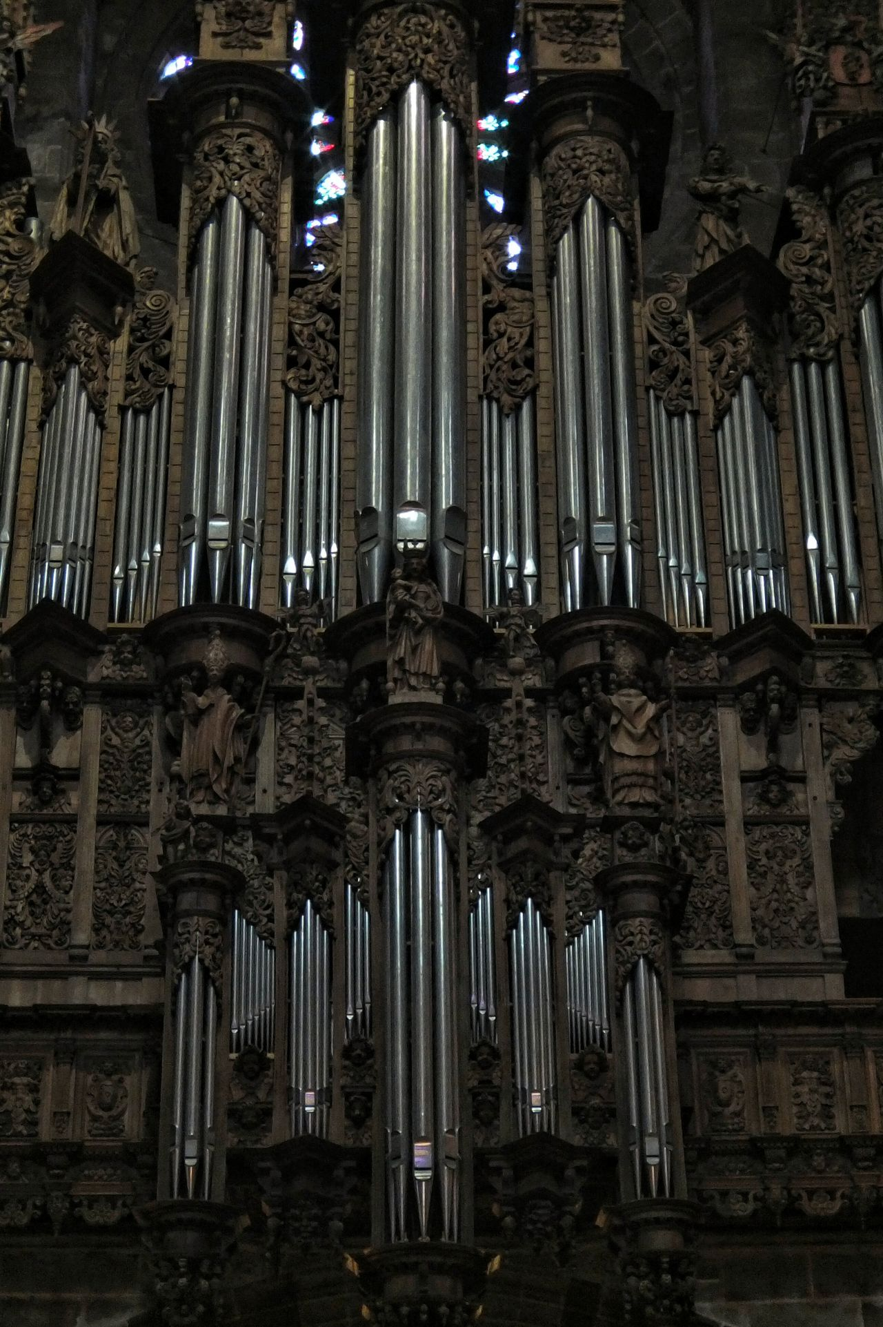 Cathédrale De Rodez Cathedral Orgue Organ Rodez Aveyron