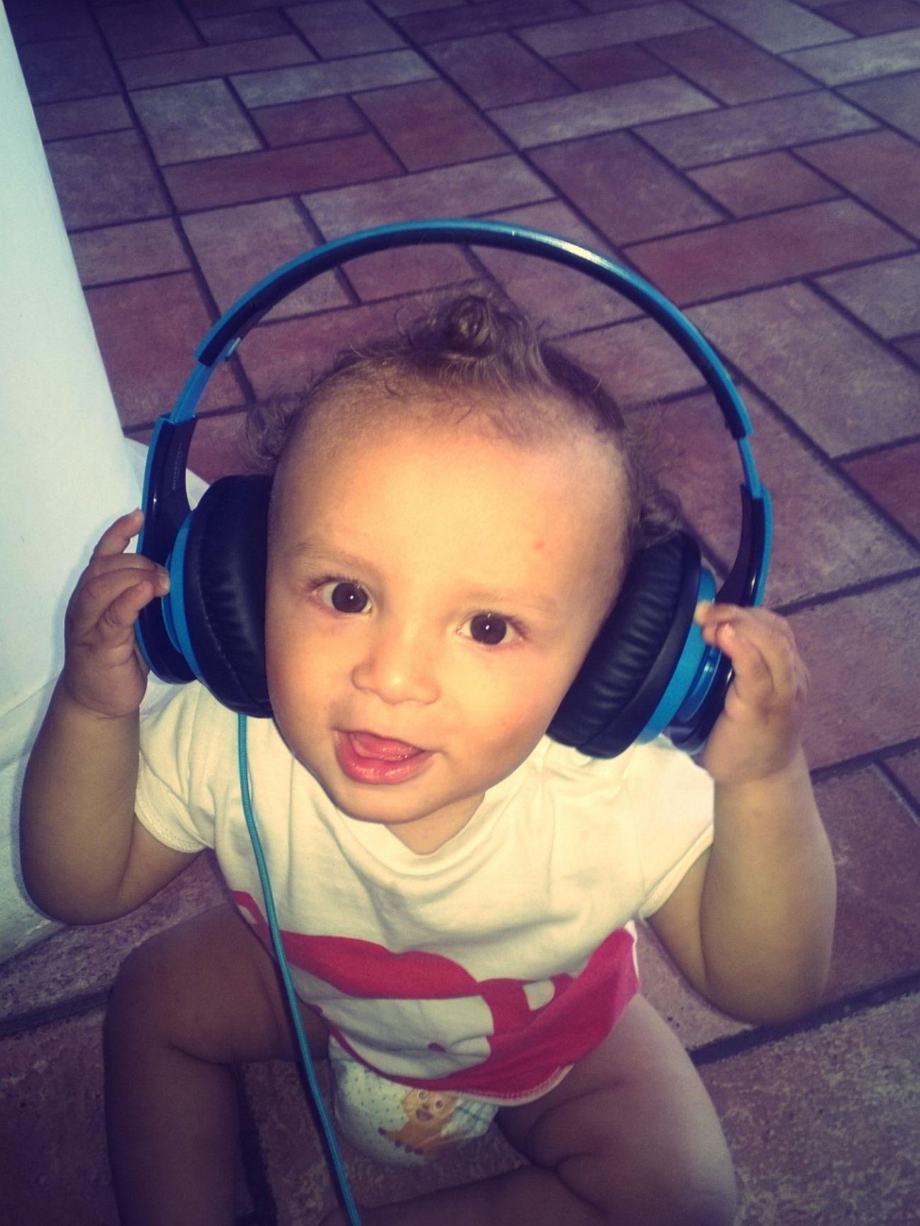 Baby Babyhood Childhood Cute Dance Enjoyment Fun Good Song ♪♬ Home Sweet Home Innocence Listening To Music Lovehim Misshim Mybabyboy❤️❤️❤️❤️ Nephew ♡ Timetogether Timetorelax Toobig