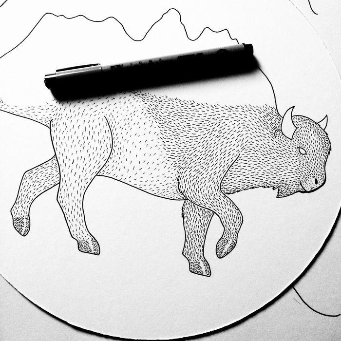 Drawing Art Pen Paper Make Art