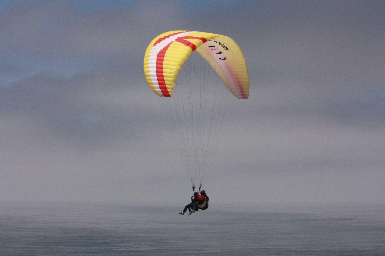 San Diego California Ocean Paragliding Paraglider Tandem Paragliding Lajolla