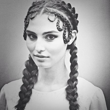 Fantastiskt hår gjort av Marianne Jensen