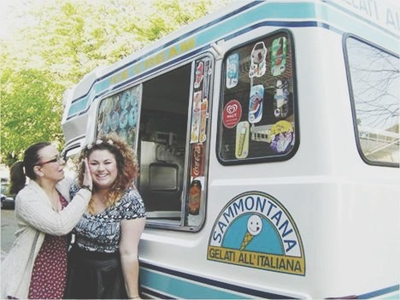 That was a cool birthday Birthday Ice Cream Truck Icecreamvan Ice Cream Van