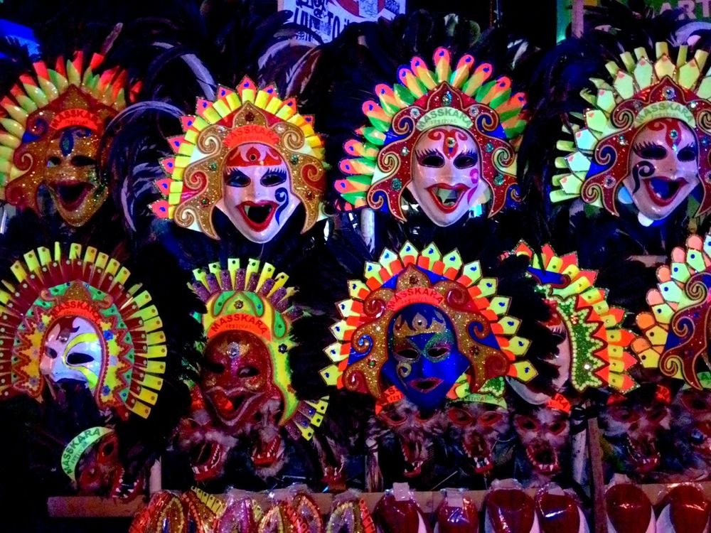 Multi Colored Arts Culture And Entertainment Cultures Masskarafestival2016 Mask Bacolod City