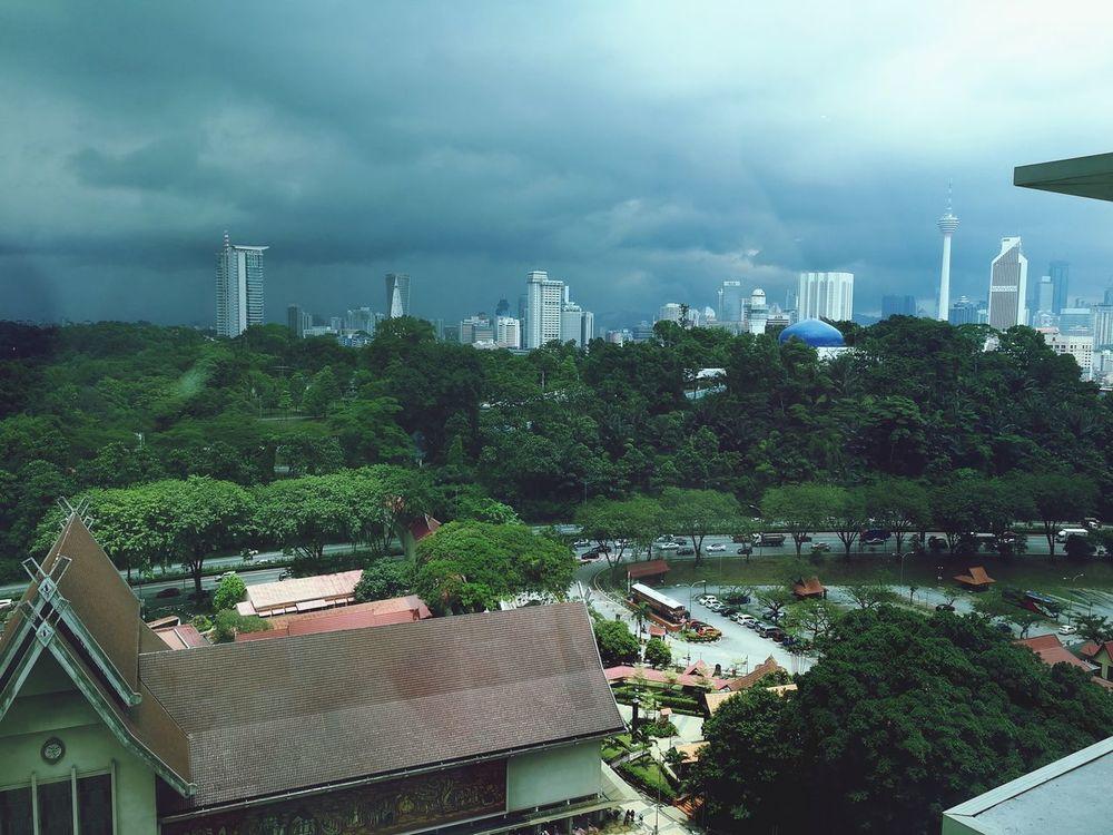 S T O R M Storm Cloud Landscape Sky Outdoors City Skyscraper Urban Skyline