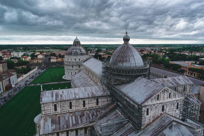 Gothic sunday Cityscapes Italy Italia Pisa Clouds And Sky Color Photography Tuscany Travels Traveling Sky And Clouds View From Above Landscape Toscana Architecture Colors Street Photography City View  City Life City Landscape