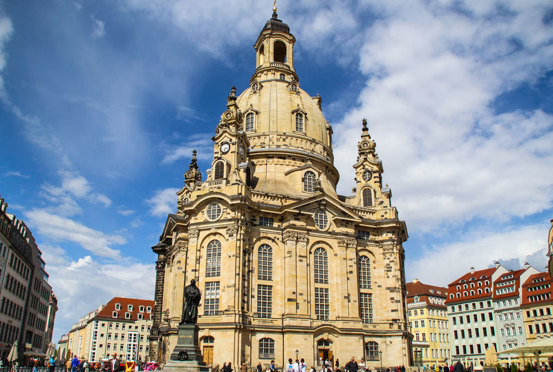 Architecture Building Exterior Built Structure Church Dresden Frauenkirche Dresden Frauenkirche Dresden 웹 사진 German History Martin Luther Religion Spirituality