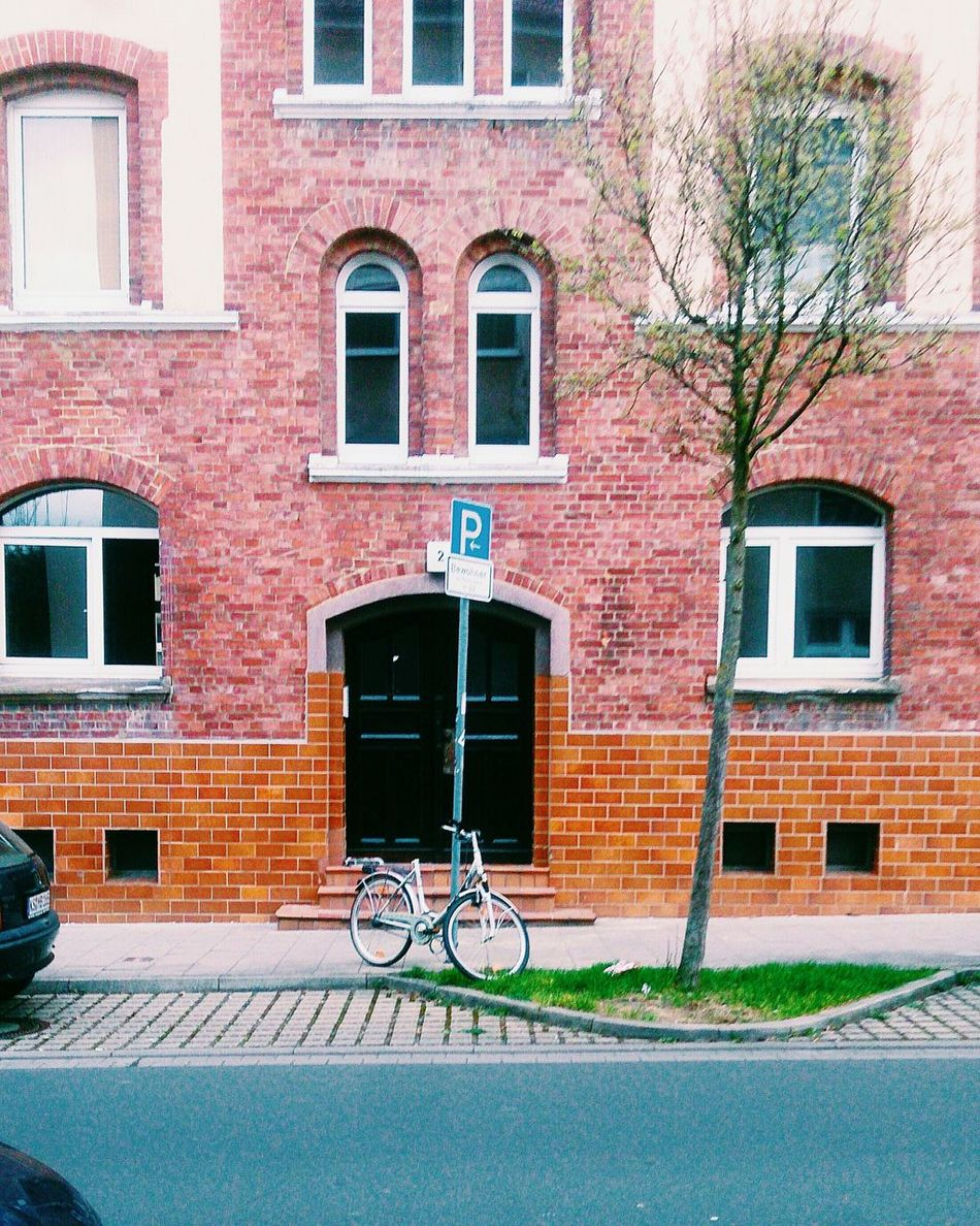 B R I C K S Building Exterior Built Structure Architecture City StreetTransportation Brick Wall Outdoors Germany Day Architecture Kasselfornia Kassel_de VSCO