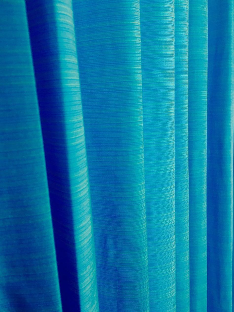 Blue Backgrounds Full Frame Color Close-up Colourful Curtain Curtain Walls Lines&Design Decoration