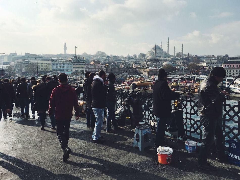 Sunday catch Istanbul Urban Landscape Hello World Light And Shadow