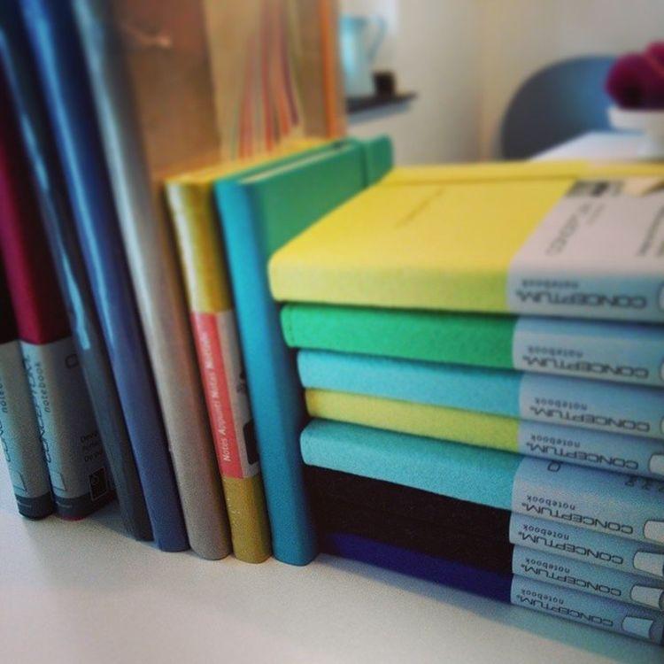 Some more - Conceptum Filz Rhodia Quovadis notepad notebook notizen